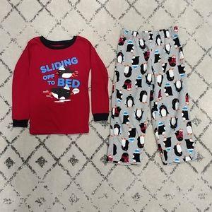 Carter's Toddler Boy Thermal & Fleece Pajama Set
